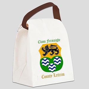 Clann Fermaighe - County Leitrim Canvas Lunch Bag