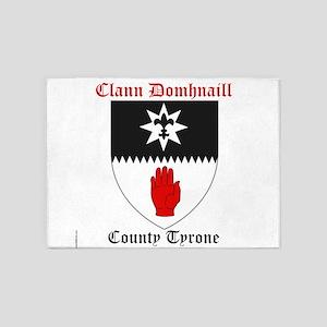 Clann Domhnaill - County Tyrone 5'x7'Area Rug