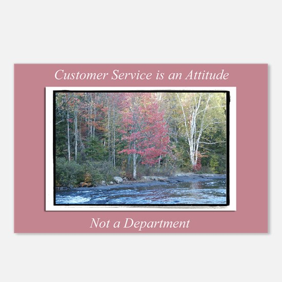 Customer Service Fall Postcards (Package of 8)