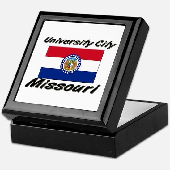 University City Missouri Keepsake Box