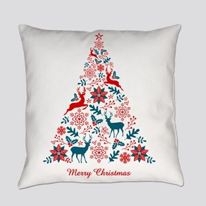 Christmas tree Everyday Pillow