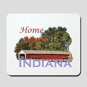Home Again Indiana Mousepad