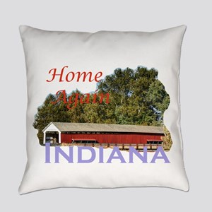 Home Again Indiana Everyday Pillow