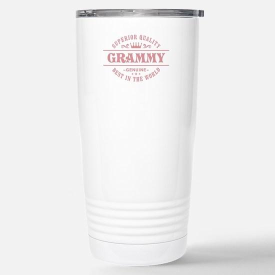 [Your Grandma Nickname] Stainless Steel Travel Mug