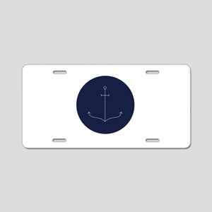 Anchor Aluminum License Plate