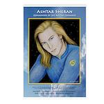 Ashtar Sheran ~ Postcards (package Of 8)