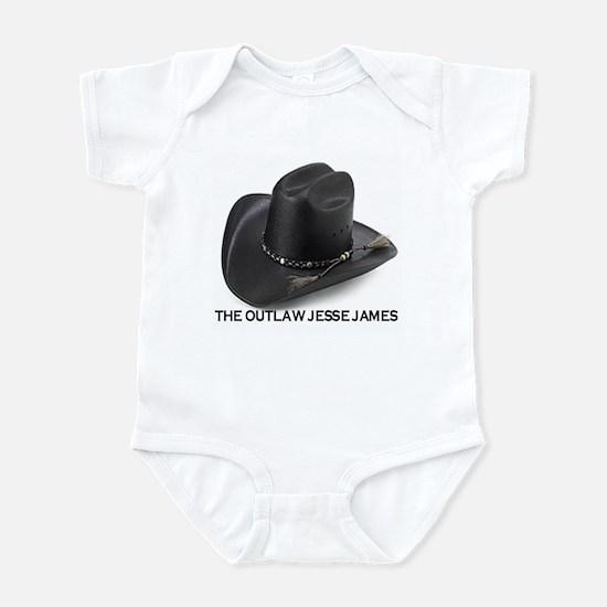 OUTLAW JESSE JAMES Infant Bodysuit