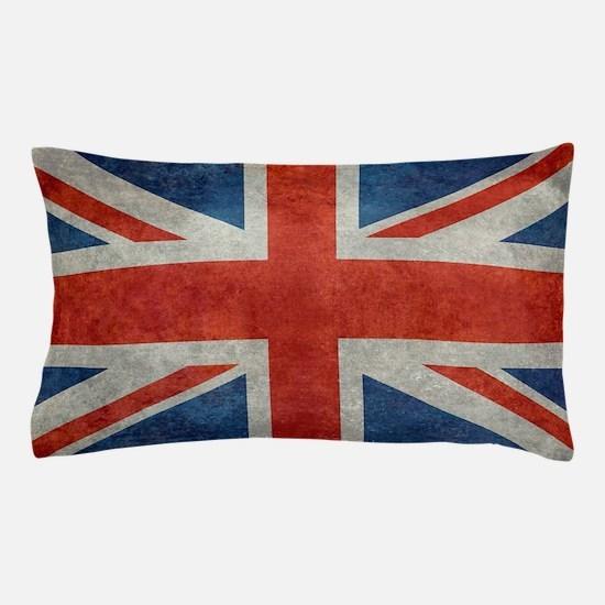 UK British Union Jack flag retro style Pillow Case