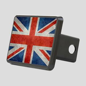 UK British Union Jack flag Rectangular Hitch Cover