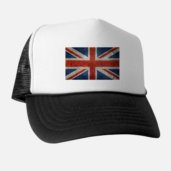 UK British Union Jack flag retro style Trucker Hat