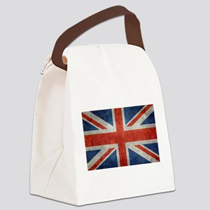 UK British Union Jack flag retro Canvas Lunch Bag