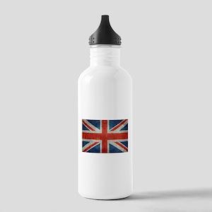 UK British Union Jack Stainless Water Bottle 1.0L
