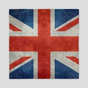 UK British Union Jack flag retro style Queen Duvet
