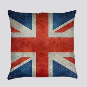 UK British Union Jack flag retro s Everyday Pillow