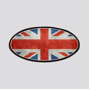 UK British Union Jack flag retro style 3:5 Patch