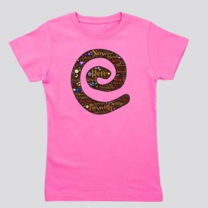 Being here now spiral Girl's Tee