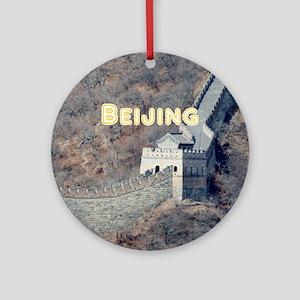 Beijing Round Ornament