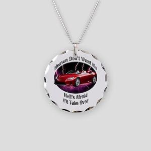 Lexus LFA Roadster Necklace Circle Charm