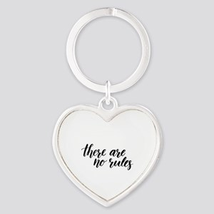 There Are No Rules Keychains