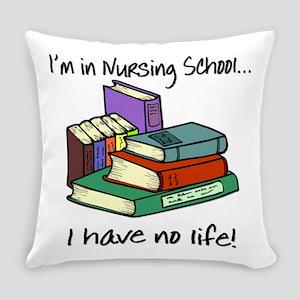 Nursing School Everyday Pillow