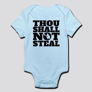 Thou Shall Not Steal Baseball Catcher Body Suit