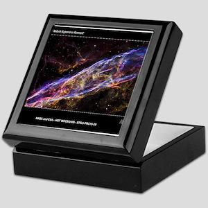 Veil Nebula Supernova Remnant Hubble Keepsake Box