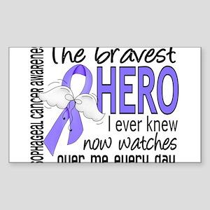Bravest Hero I Knew Esophageal Cancer Sticker
