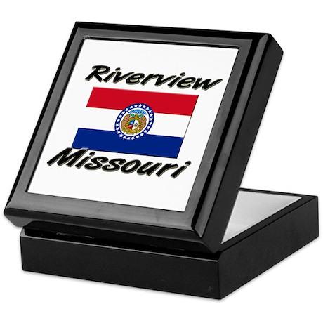 Riverview Missouri Keepsake Box