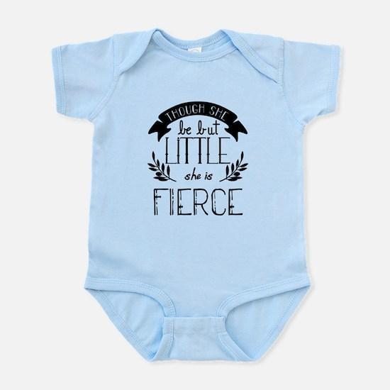 She is Fierce Infant Bodysuit