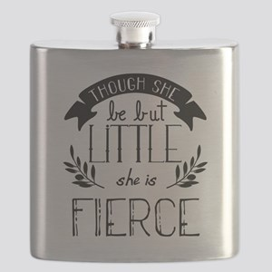 She is Fierce Flask