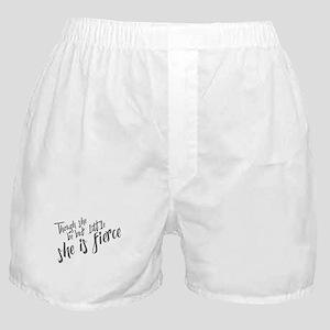 She is Fierce Boxer Shorts