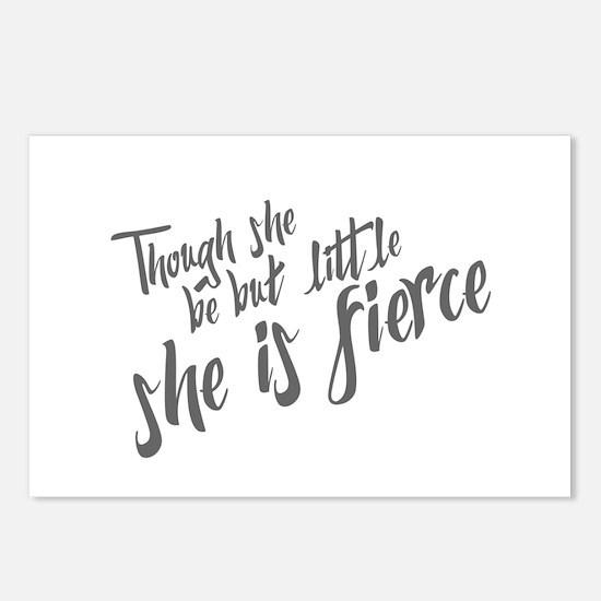 She is Fierce Postcards (Package of 8)