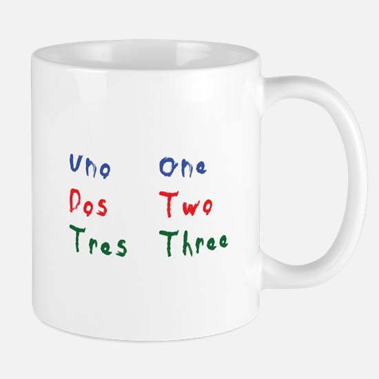 Uno Dos Tres One Two Three Mugs