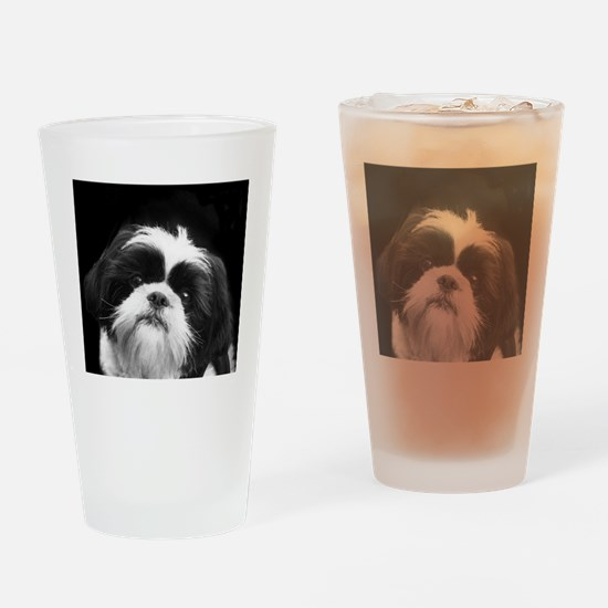 Shih Tzu Dog Drinking Glass