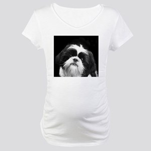Shih Tzu Dog Maternity T-Shirt