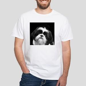 Shih Tzu Dog White T-Shirt