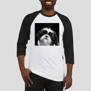 Shih Tzu Dog Baseball Jersey