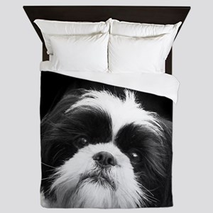 Shih Tzu Dog Queen Duvet