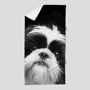 Shih Tzu Dog Beach Towel