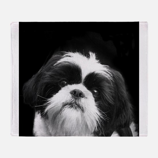 Shih Tzu Dog Throw Blanket