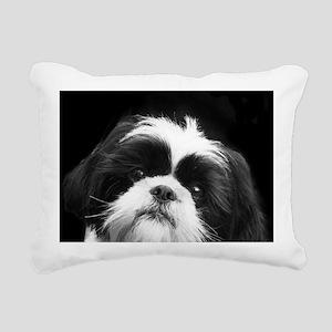 Shih Tzu Dog Rectangular Canvas Pillow