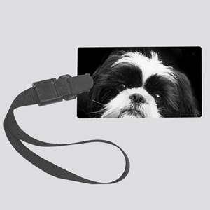 Shih Tzu Dog Large Luggage Tag