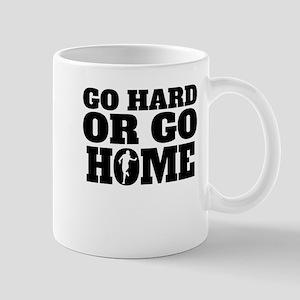 Go Hard Or Go Home Running Mugs