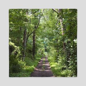 Forest Trail Queen Duvet