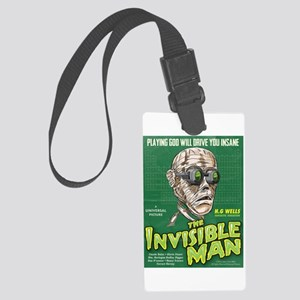 Invisible Man Large Luggage Tag