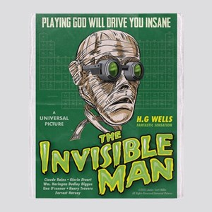 Invisible Man Throw Blanket