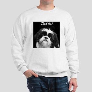 Thank You Shih Tzu Sweatshirt