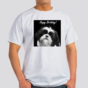 Birthday Shih Tzu Light T-Shirt