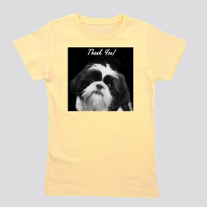 Thank You Shih Tzu Girl's Tee