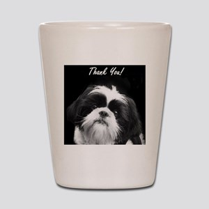 Thank You Shih Tzu Shot Glass